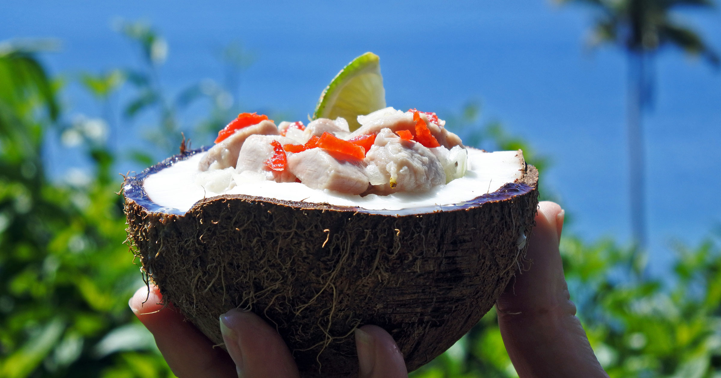 Fijian Coconut Food
